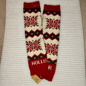 NWT Hollister Thick Warm Leg Warmers Toasty NEW